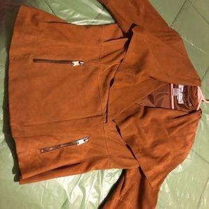 Worth suede jacket size 8